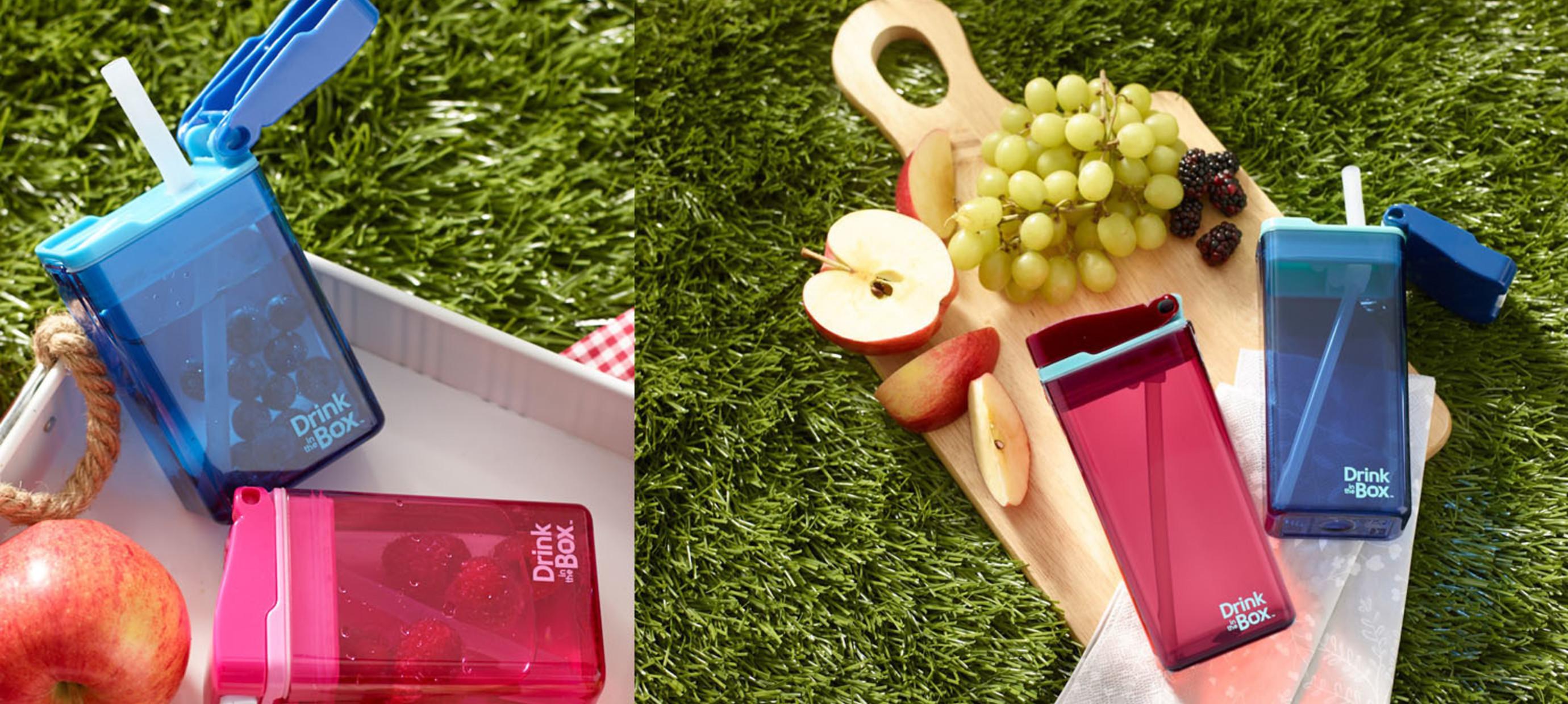 De nieuwe Drink in the Box- Next Generation: drinkpakjes in ton-sur-ton kleuren!