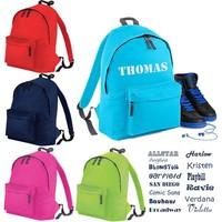 thumb-Junior backpack with name print and sailboat-3