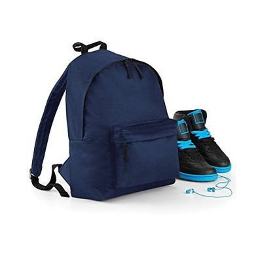 Junior backpack with name print and sailboat-4