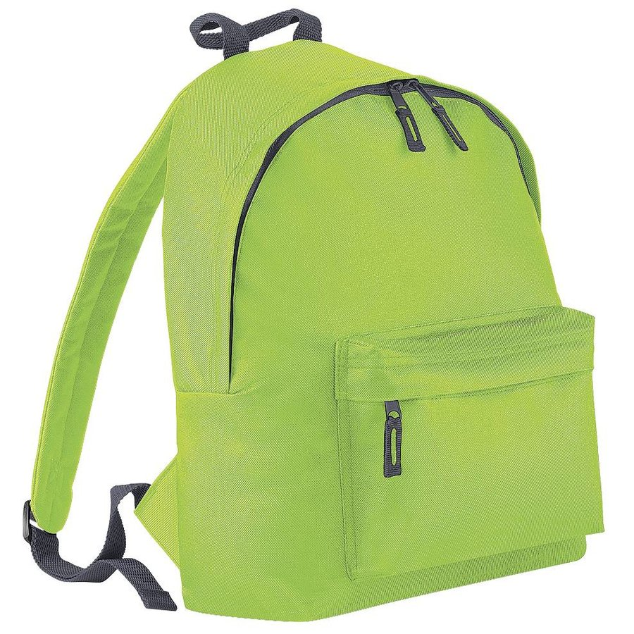 Junior backpack with name print and tractors-6