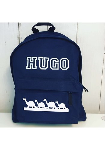 Junior backpack with name dinos