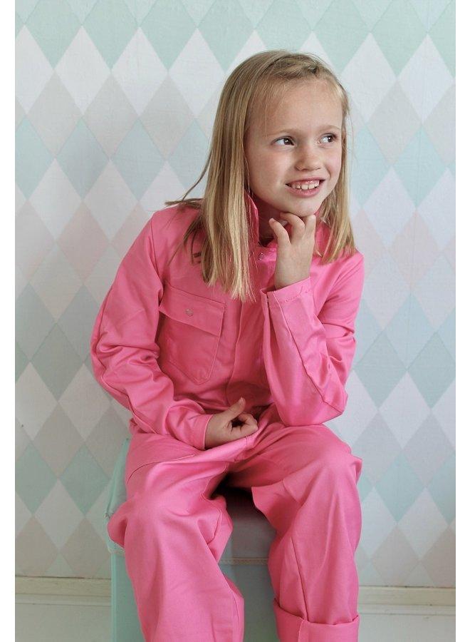 Kids overall pink