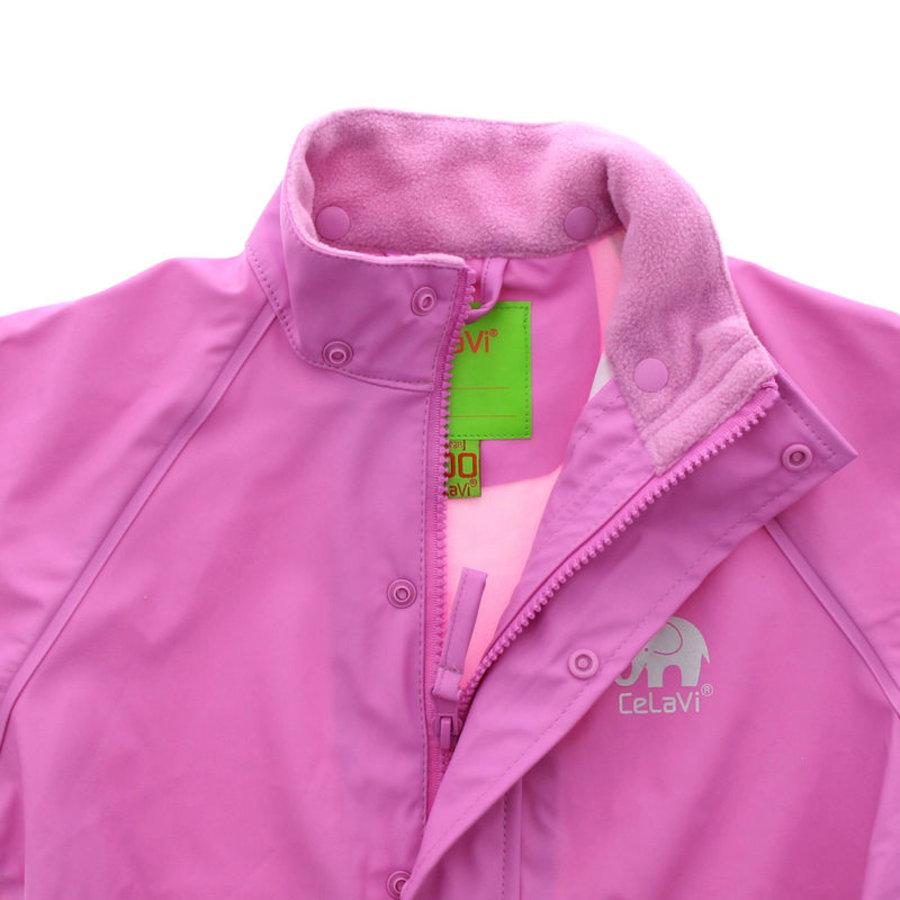 Waterdichte roze kinderregenjas  | 80-140-3