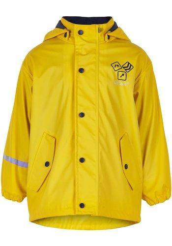 CeLaVi Gele gevoerde regenjas | Sign Yellow | 80-140