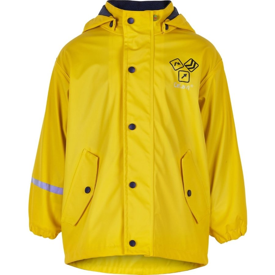 Children's raincoat lined Sign Yellow 80-140-1