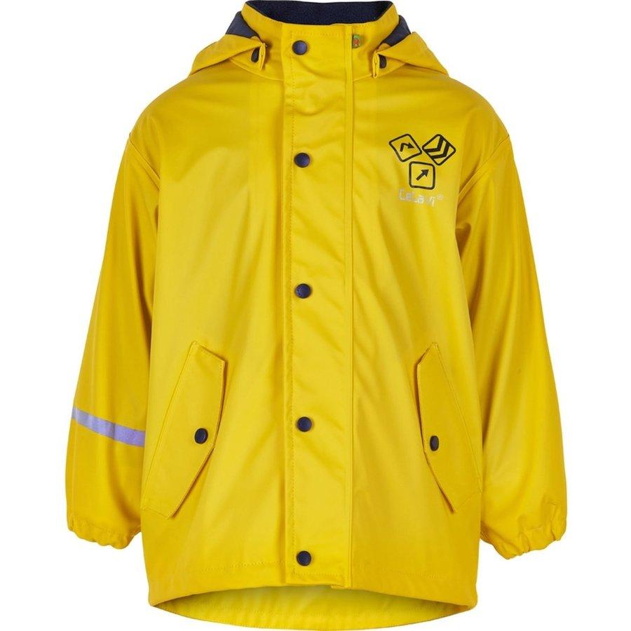 Kinderregenjas | gevoerd | Sign Yellow| 80-140-1