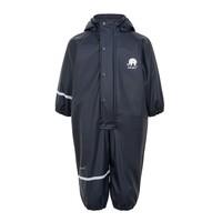 Children's rainsuit in one piece | fleece lining | Navy | 70-110