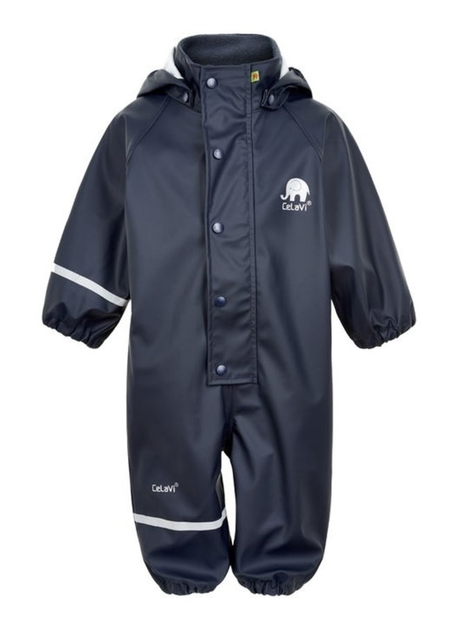 One-piece children's rainsuit | navy blue | 70-110