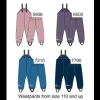 thumb-Fleece lined children's rain pants | Navy | 80-140-2