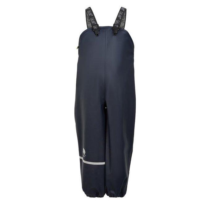 Fleece lined rain pants   navy   80-140