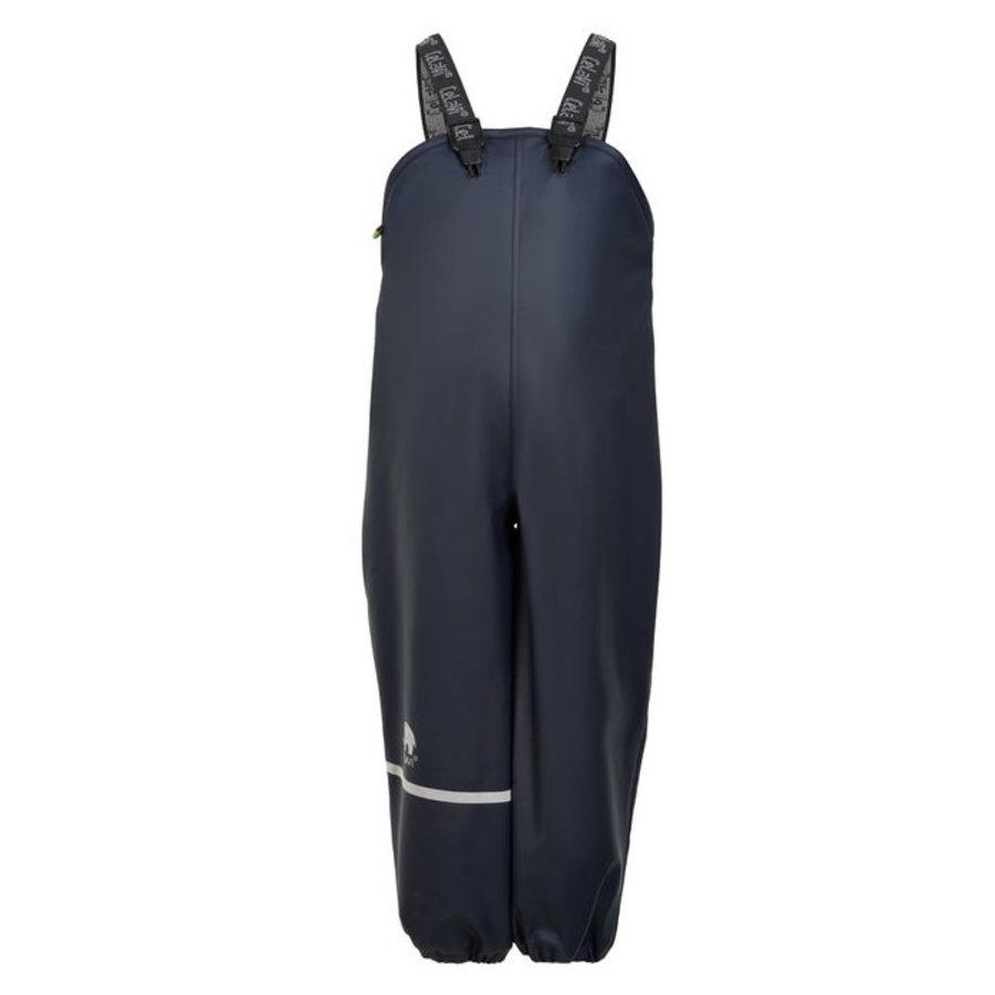 Fleece gevoerde kinder regenbroek | Navy| 80-140-1