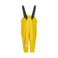 thumb-Sustainable children's rain pants yellow | braces | 110-130-1