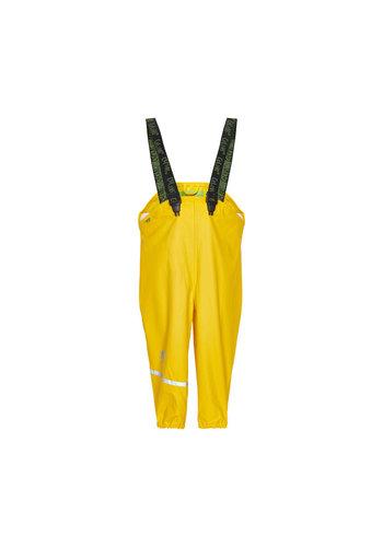 CeLaVi Gele kinderregenbroek | bretels