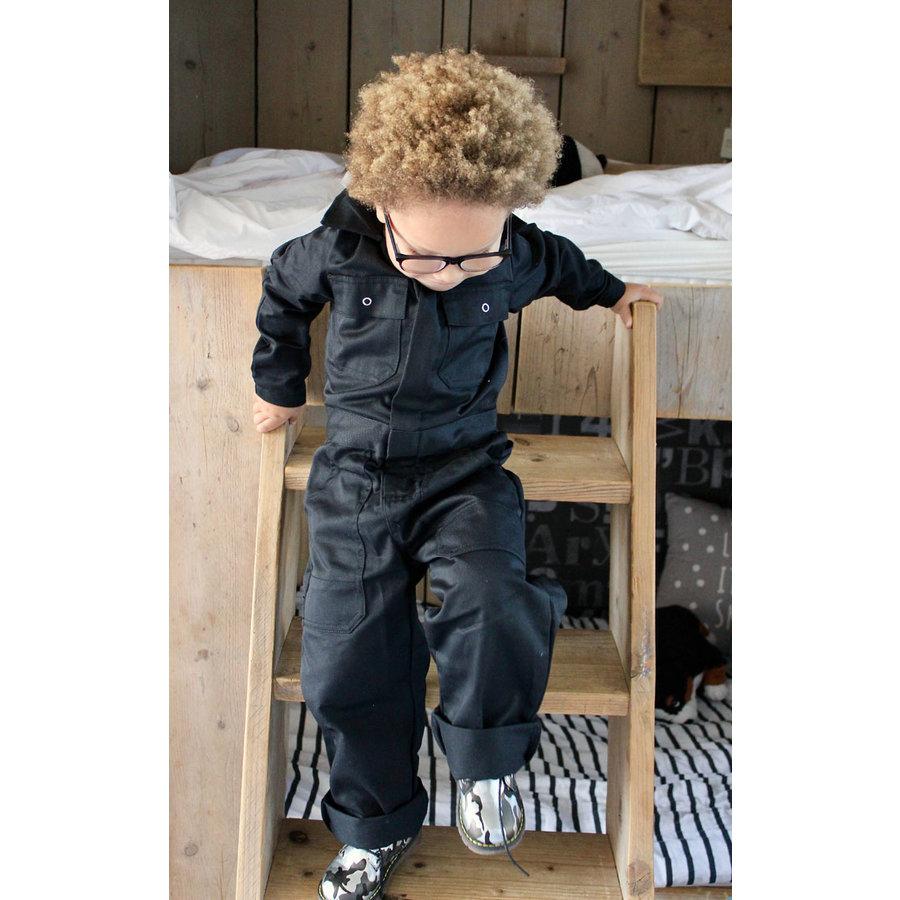 Zwarte kinderoverall-5