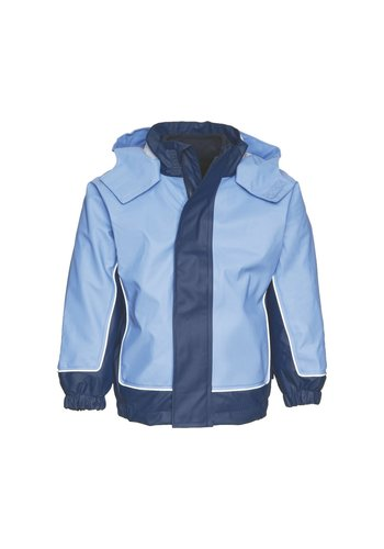 Playshoes Children's raincoat with removable fleece lining size 80-140