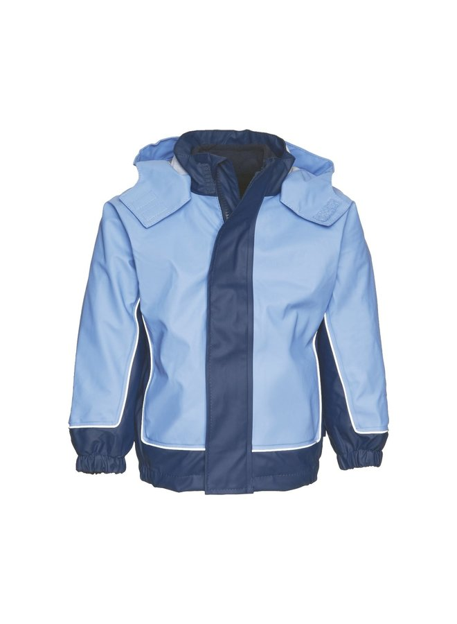 Children's raincoat with removable fleece lining size 80-140