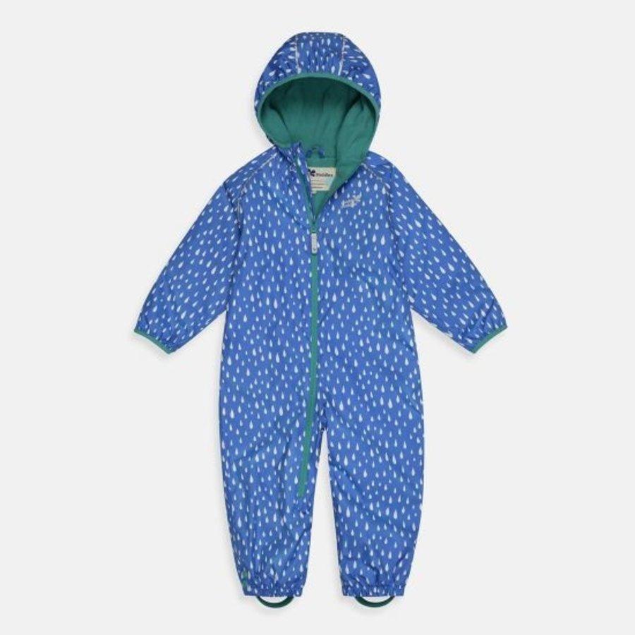 Sustainable rain suit ECOSPLASH, Raindrop | 0-6 years-3