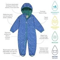 thumb-Sustainable rain suit ECOSPLASH, Raindrop | 0-6 years-4