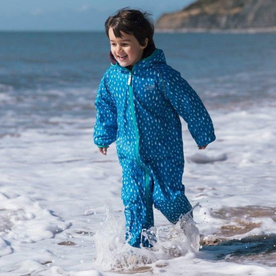 Sustainable rain suit ECOSPLASH, Raindrop | 0-6 years-2