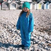 thumb-Sustainable rain suit ECOSPLASH, Raindrop | 0-6 years-1