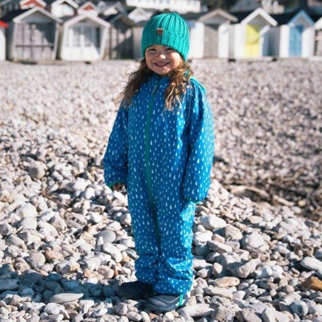 Sustainable rain suit ECOSPLASH, Raindrop | 0-6 years