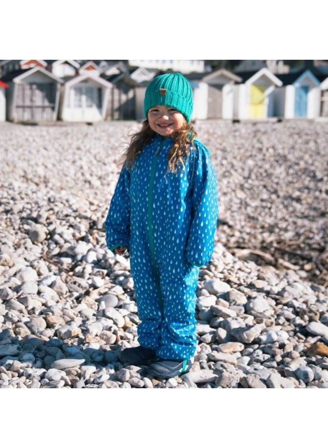 Sustainable rain suit ECOSPLASH, Raindrop | 0-6 years