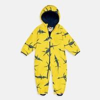 thumb-Sustainable rain suit ECOSPLASH, Fossil   0-6 years-3