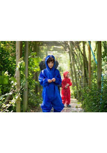 MP buitenkleding Waterproof overall, rain overall - cornflower blue