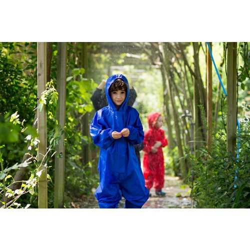 MP buitenkleding Waterproof overall, regenoverall - korenblauw