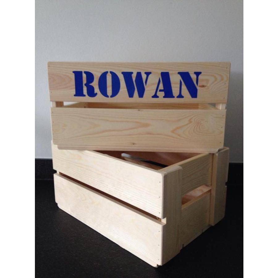 Toy crate, chest with name-3