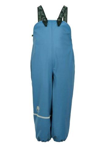 CeLaVi Fleece lined rain pants with suspenders navy | 80-140 - Copy
