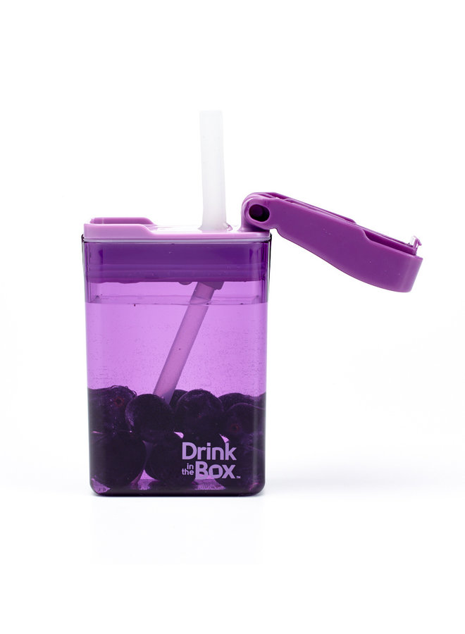 Drink in the Box| nieuw | 235ml|paars