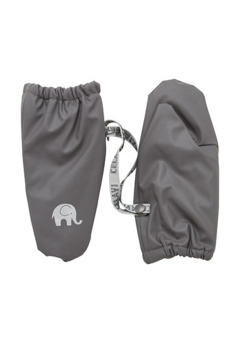 CeLaVi Fleece lined PU mittens 0-4 years | gray
