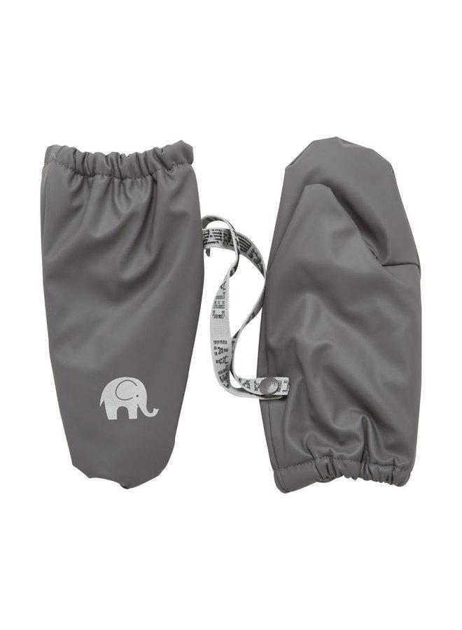 Warm mittens fleece lined and waterproof   0-4 years   gray
