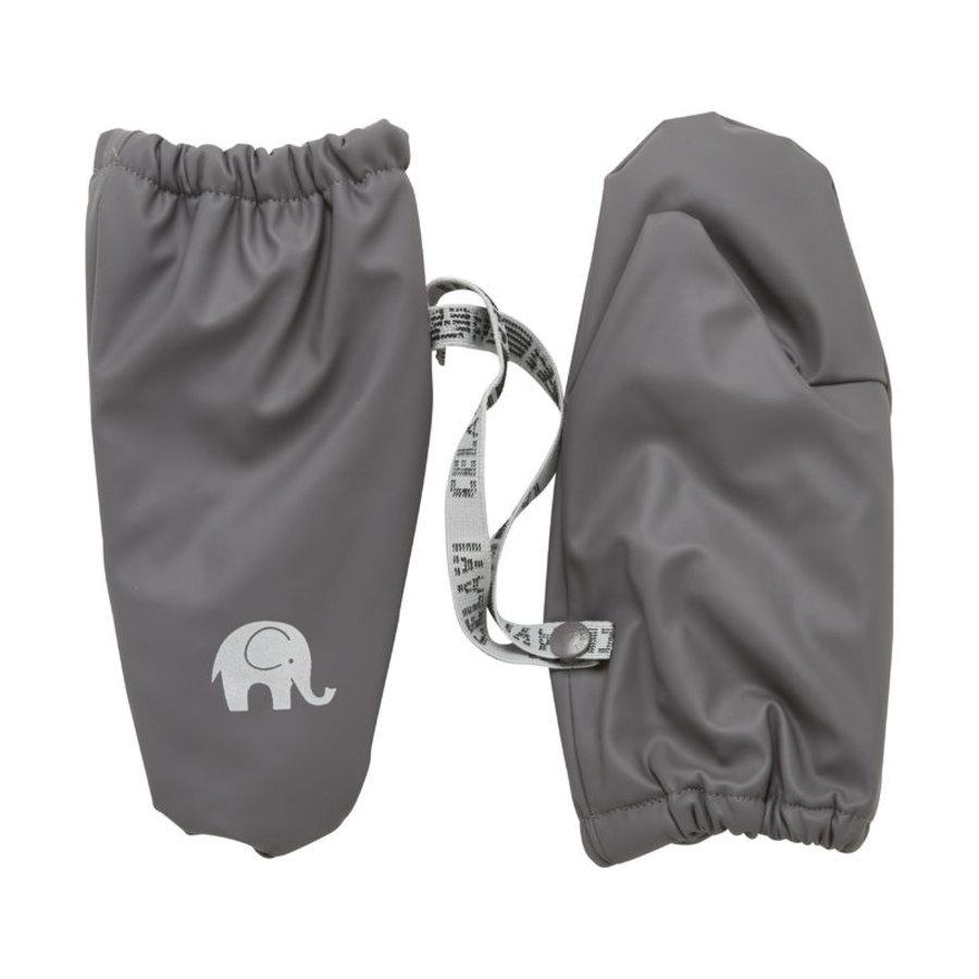 Warm mittens fleece lined and waterproof   0-4 years   gray-1