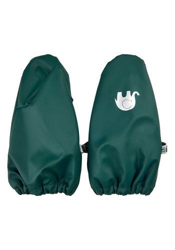 CeLaVi Fleece lined PU mittens 0-4 years | Navy - Copy