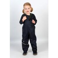 thumb-Navy children's rain pants with suspenders 70-100-2