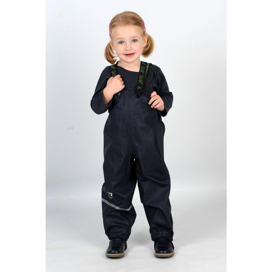Navy children's rain pants with suspenders 70-100-2
