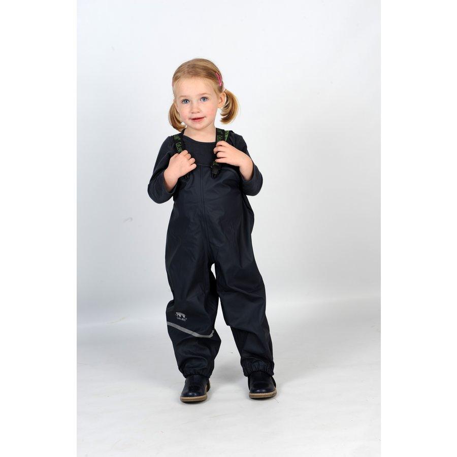 Navy children's rain pants with suspenders 70-100-3