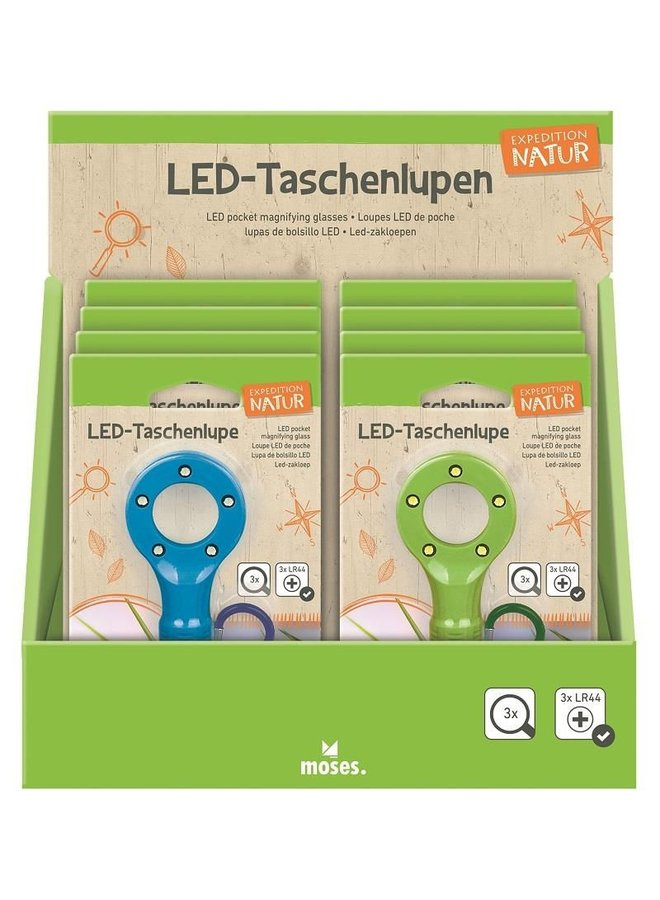 LED magnifying glass | pocket size