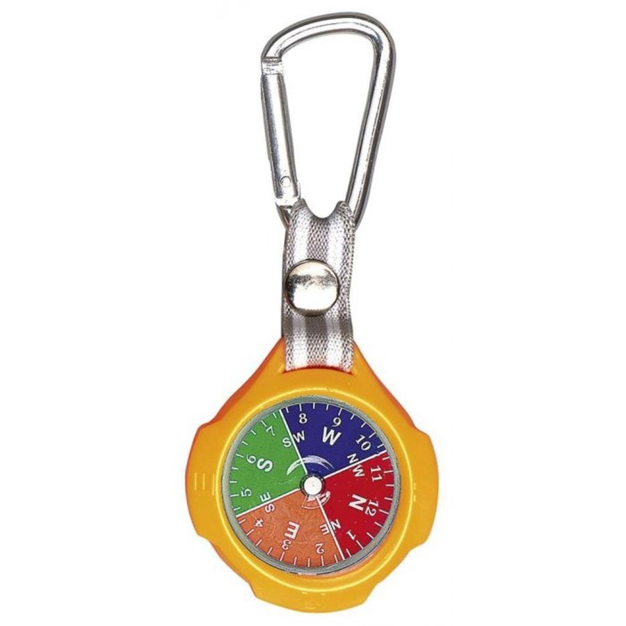 Sleutelhanger met kompas en karabijnhaak-3