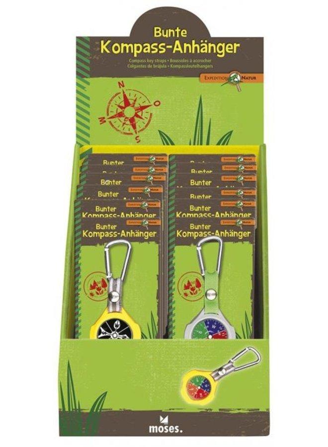 Sleutelhanger met kompas