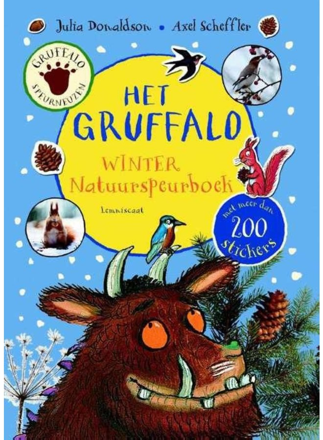 Graffalo Winter Nature Book