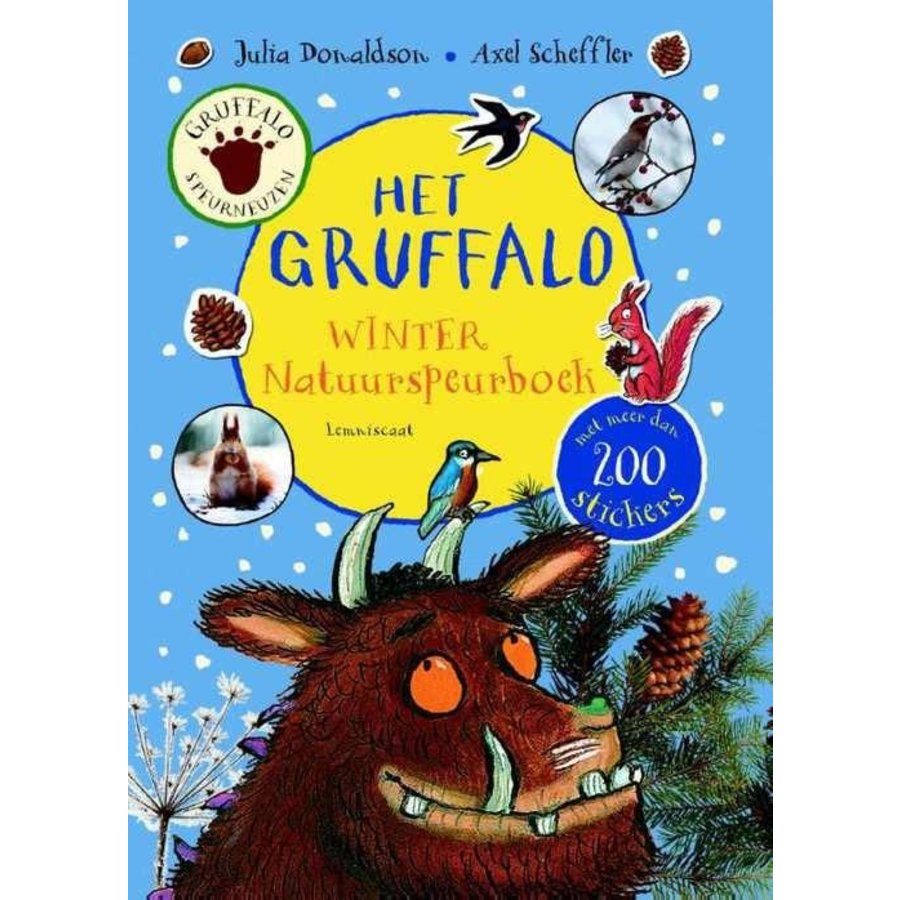 Gruffalo - Natuurspeurboek Winter editie-1