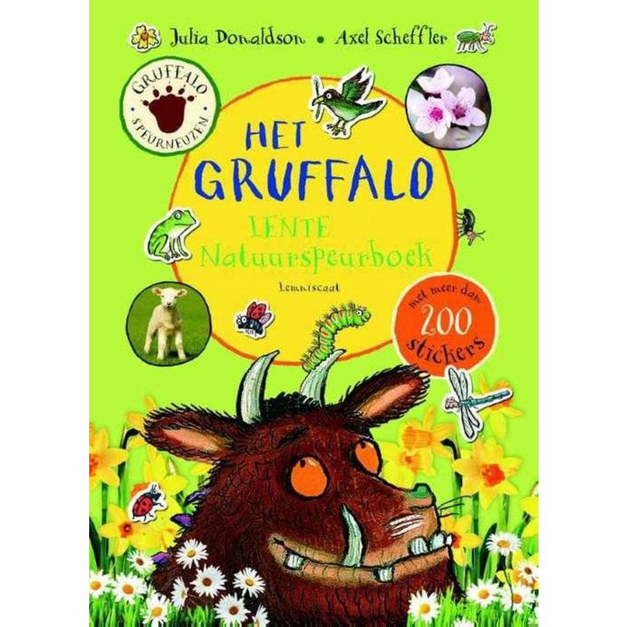Gruffalo - Natuurspeurboek Lente editie-1