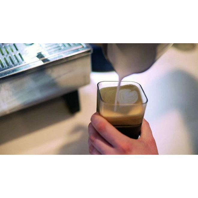 Kafé In The Box| zwarte koffiebeker voor onderweg 355ml