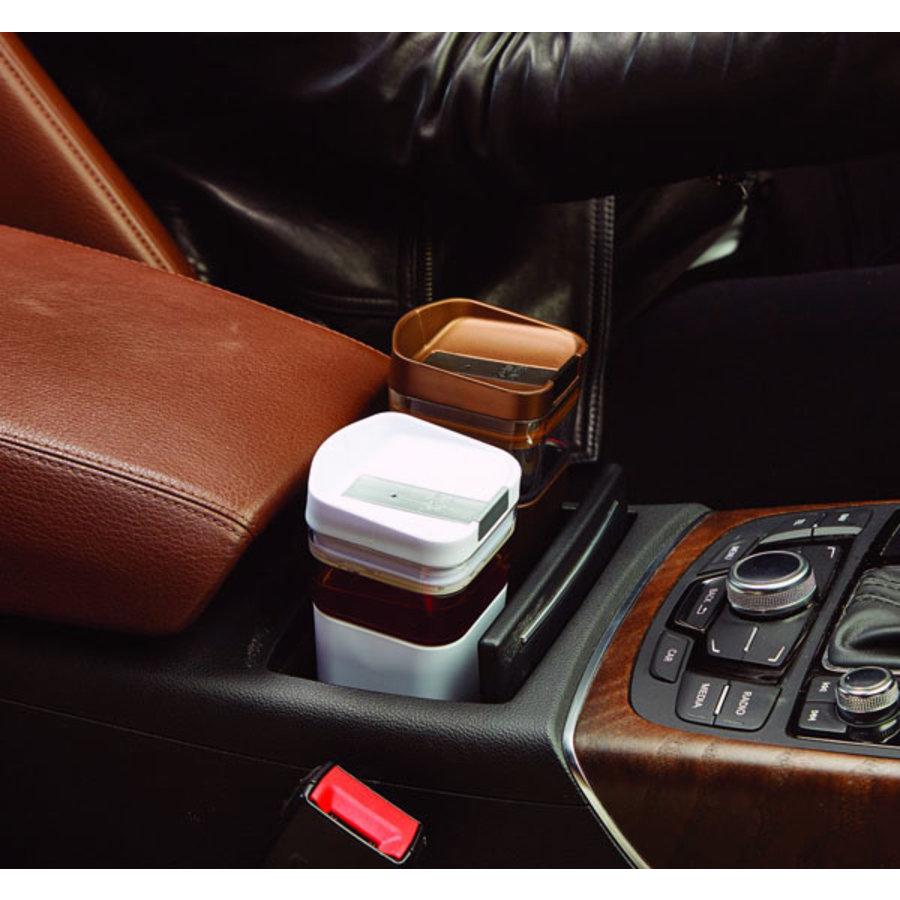 Kafé In The Box| zilvergrijze koffiebeker voor onderweg 473 ml-5