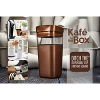 thumb-Kafé In The Box| zilvergrijze koffiebeker voor onderweg 473 ml-6