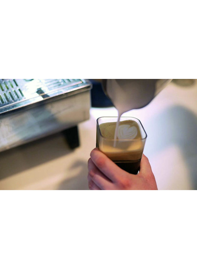 Kafé In The Box| zwarte koffiebeker voor onderweg 473 ml