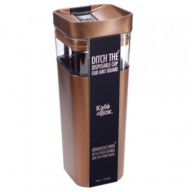 Kafé In The Box| Bruin Brons| 473 ml